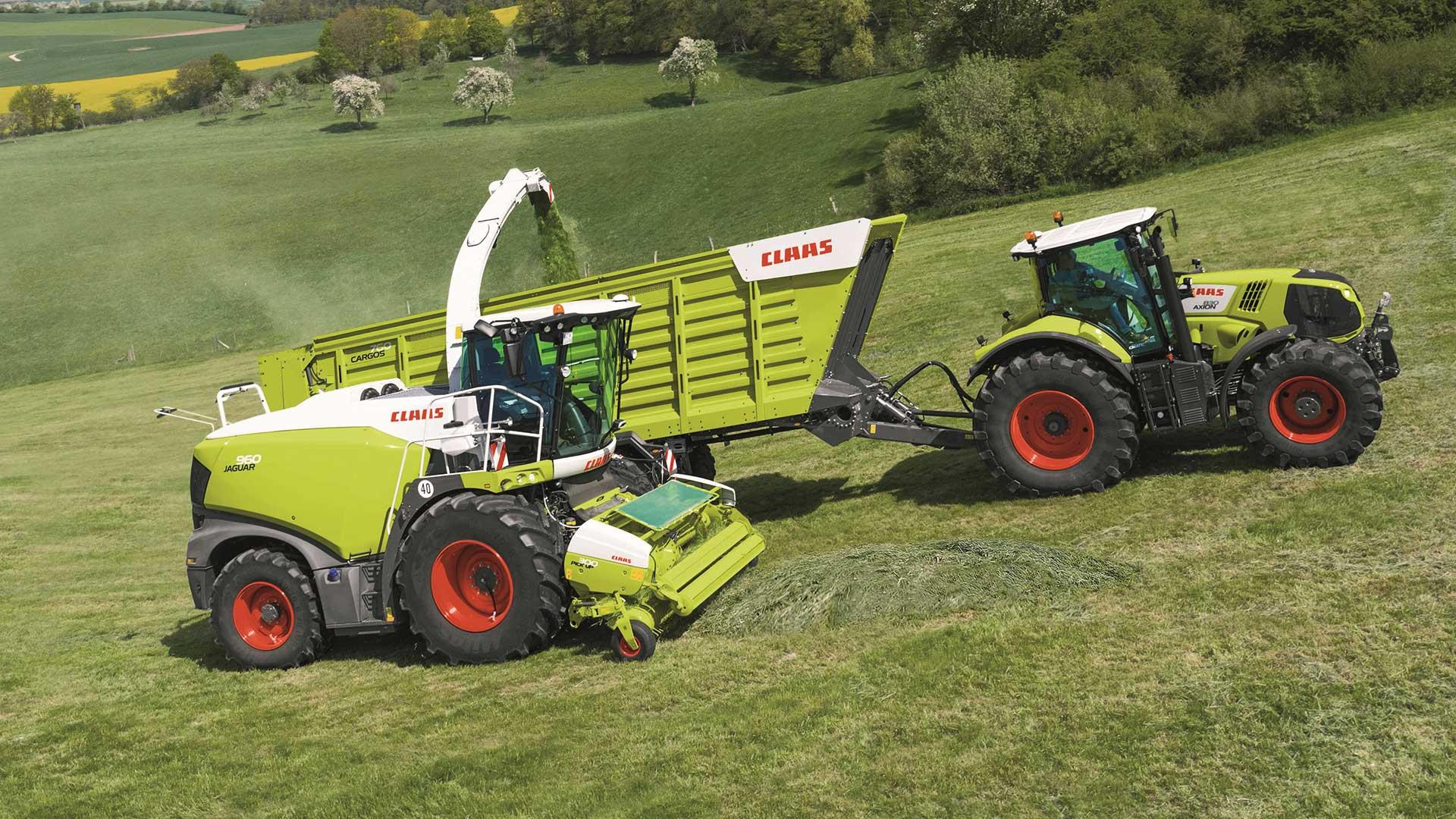 Claas Traktör