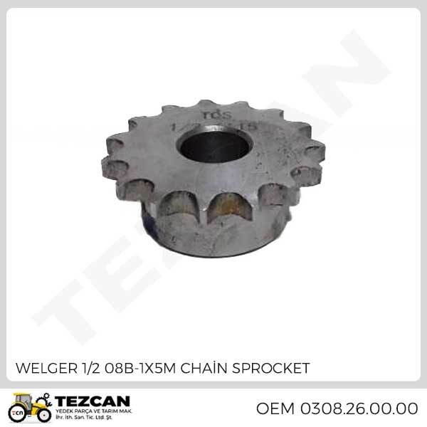 1/2 08B-1X5M CHAİN SPROCKET