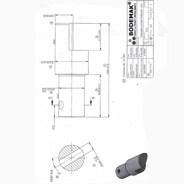 CLASS BOLT 26x73 mm