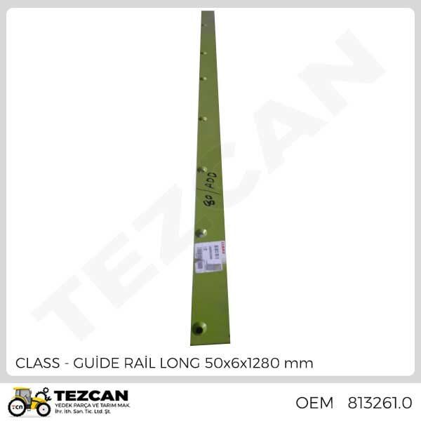 GUİDE RAİL LONG 50x6x1280 mm