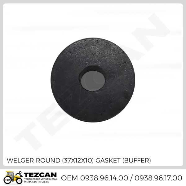 ROUND (37X12X10) GASKET (BUFFER)