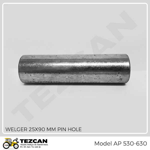 WELGER 25x90 MM PIN HOLE
