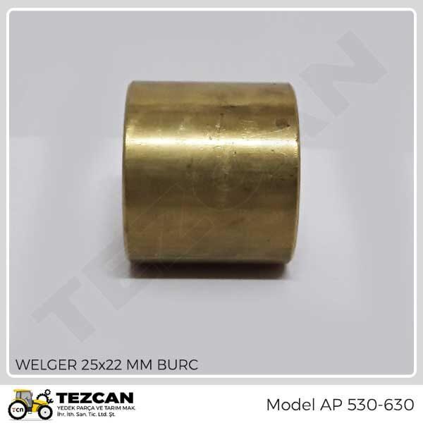 WELGER 25x22 MM BURC