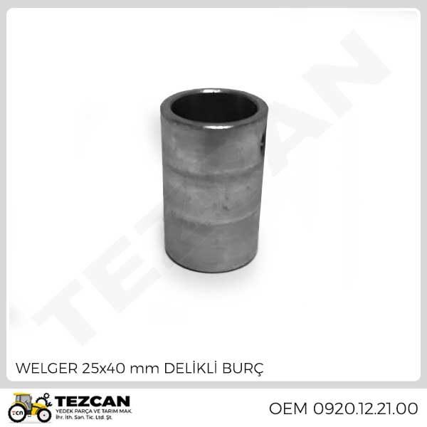 WELGER 25x40 mm DELİKLİ BURÇ