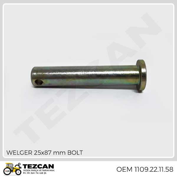 WELGER 25x87 mm BOLT