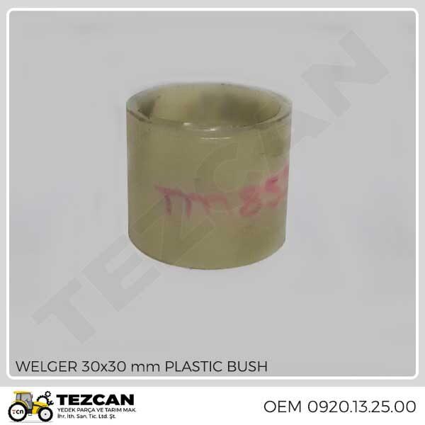 WELGER 30x30 mm PLASTIC BUSH