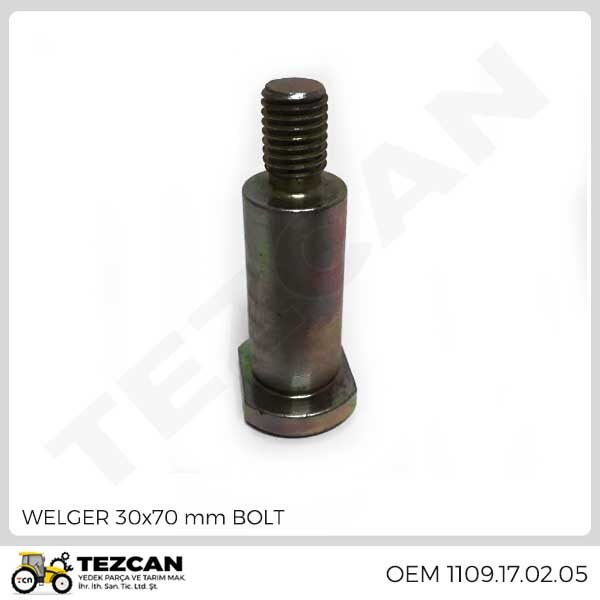 WELGER 30x70 mm BOLT
