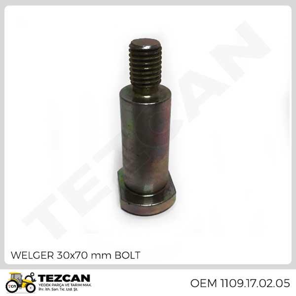 WELGER 30x70 mm BOLT