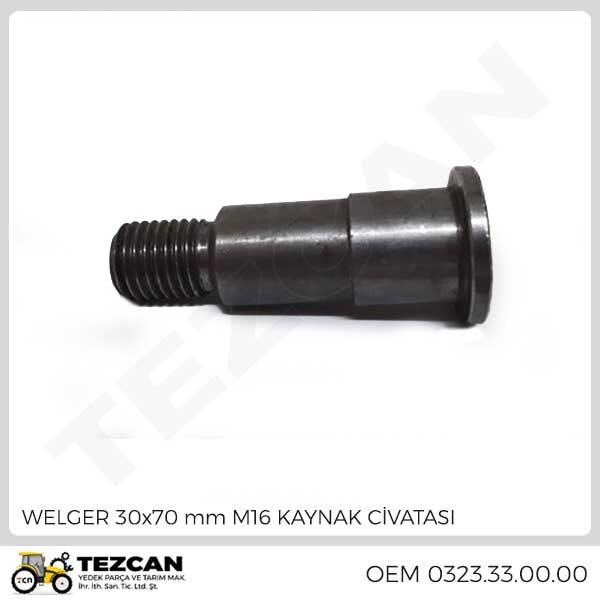 WELGER 30x70 mm M16 KAYNAK CİVATASI