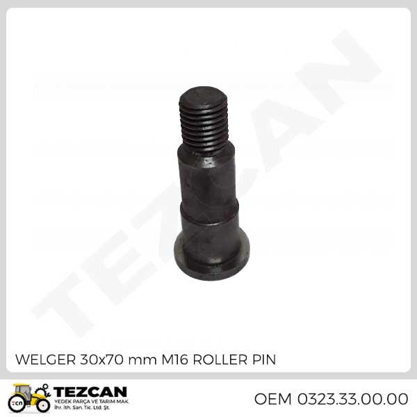 WELGER 30x70 mm M16 ROLLER PIN