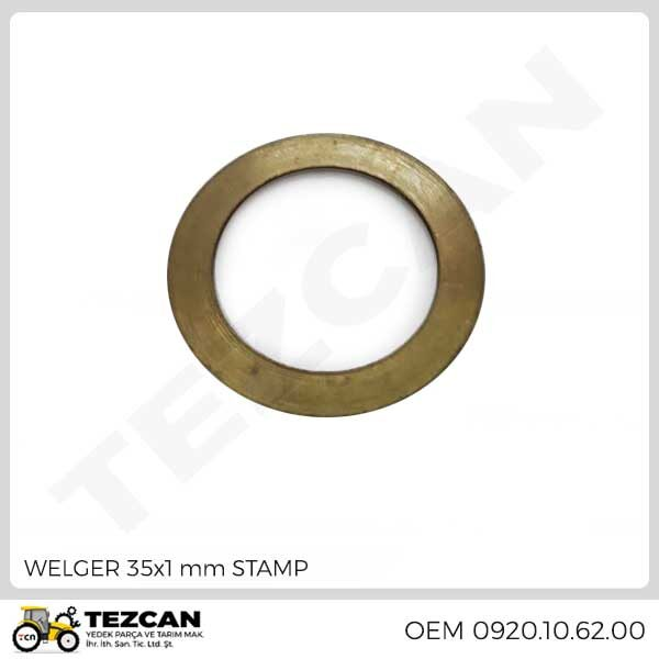 WELGER 35x1 mm STAMP