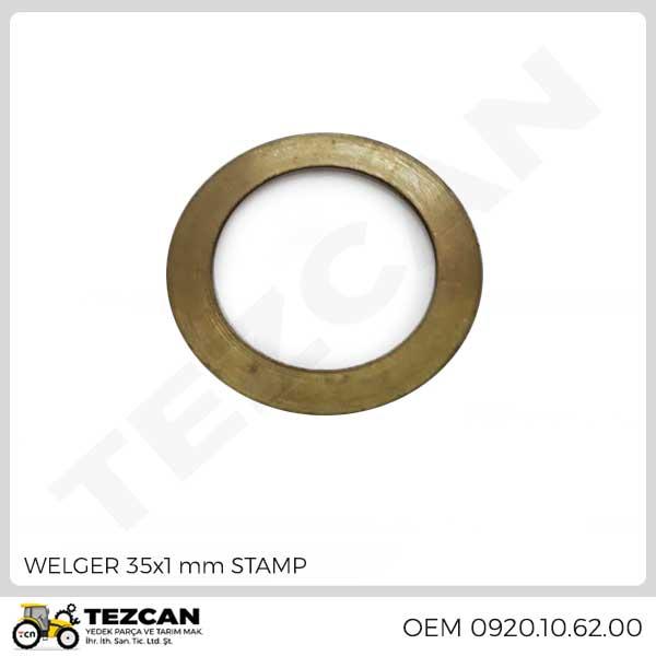 WELGER 35x1 mm STAMP