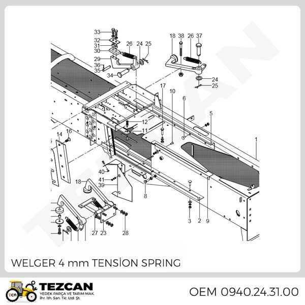 4 mm TENSİON SPRING