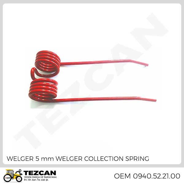 WELGER 5 mm WELGER COLLECTION SPRING