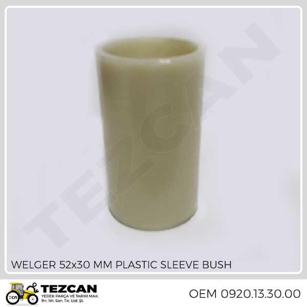 WELGER 52x30 MM PLASTIC SLEEVE BUSH