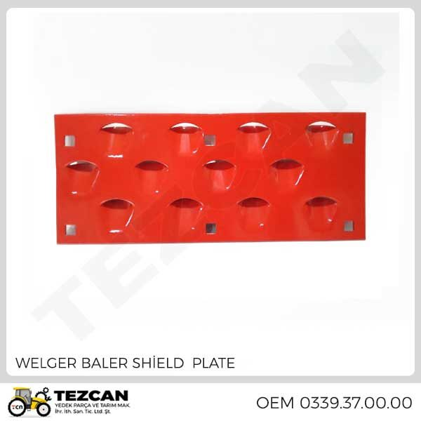 WELGER BALER SHİELD PLATE