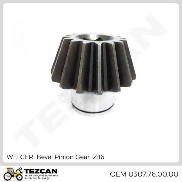 WELGER Bevel Pinion Gear Z:16