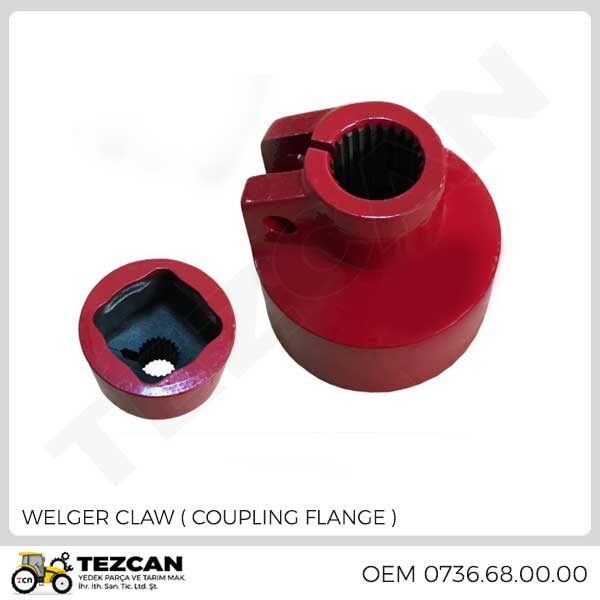 CLAW ( COUPLING FLANGE )