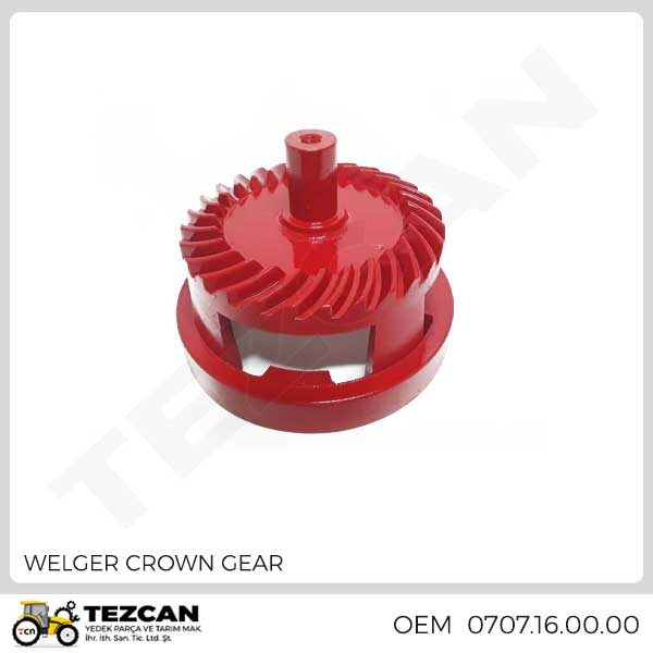 WELGER CROWN GEAR
