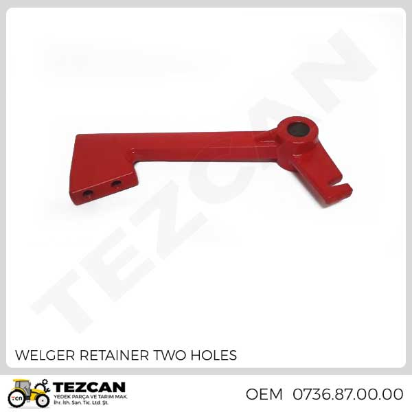 WELGER RETAINER TWO HOLES