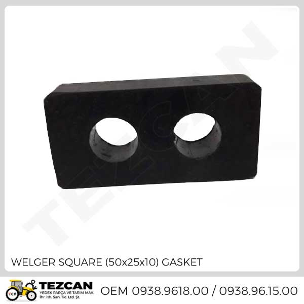WELGER SQUARE (50x25x10) GASKET