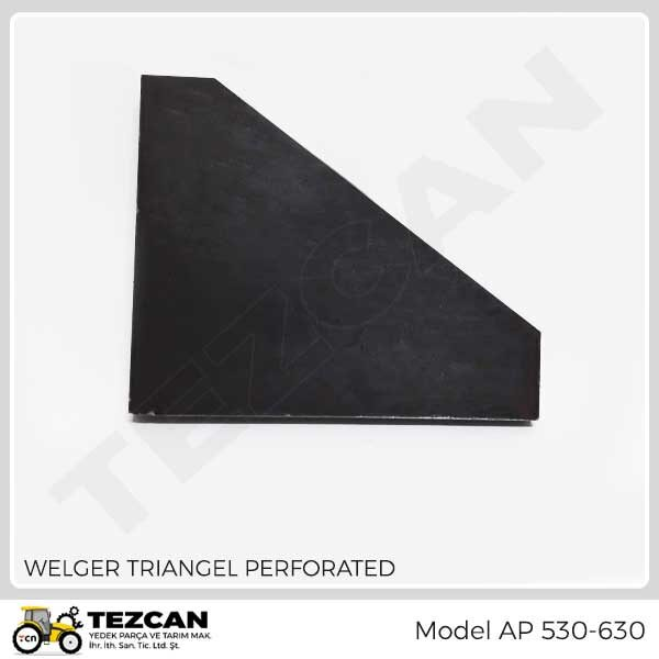 WELGER- TRIANGEL PERFORATED