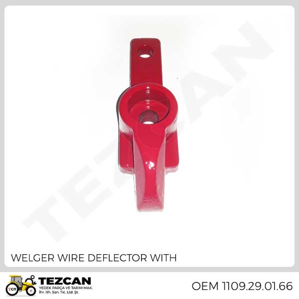 WELGER WIRE DEFLECTOR WITH
