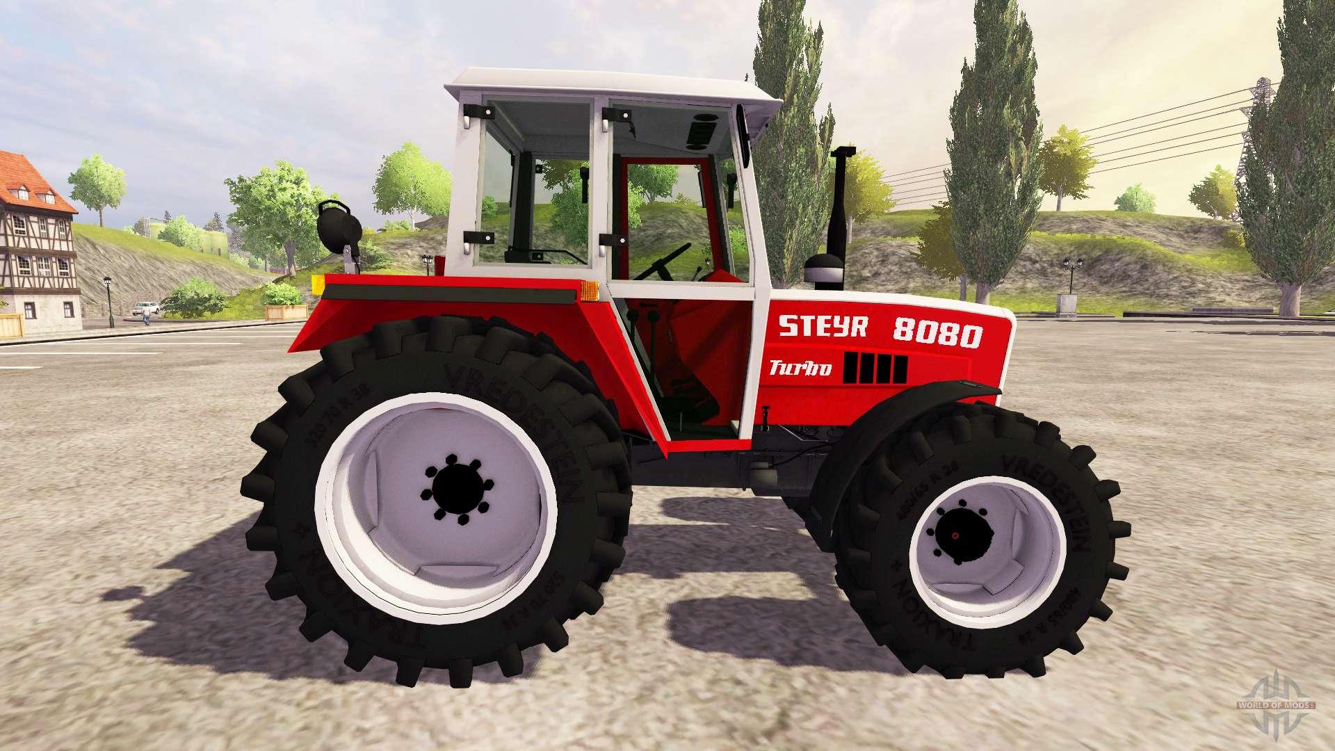 steyr traktör