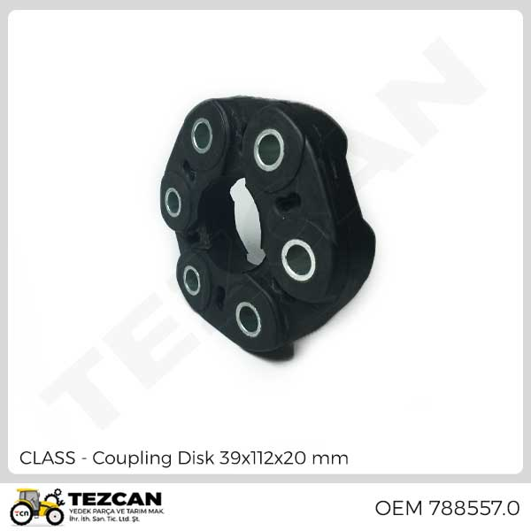Coupling Disk 39x112x20 mm