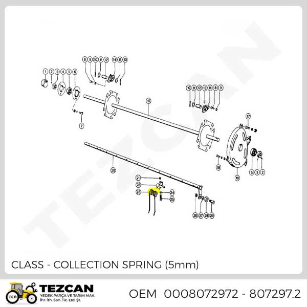 CLASS COLLECTION SPRING (5mm)