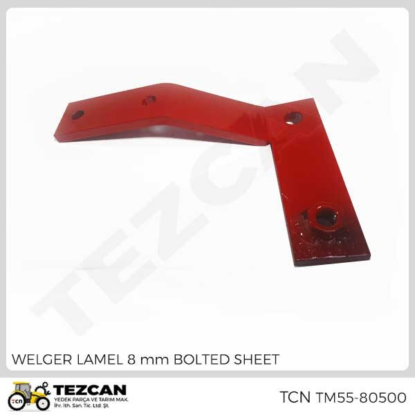 LAMEL 8 mm BOLTED SHEET