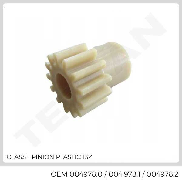 PINION PLASTIC 13Z
