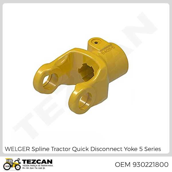 Spline Tractor Quick Disconnect Yoke 5 Series