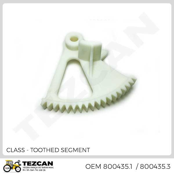 TOOTHED SEGMENT