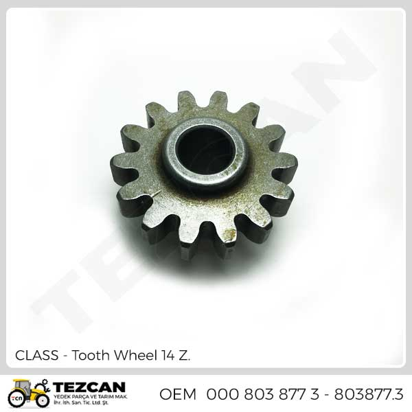 Tooth Wheel 14 Z.