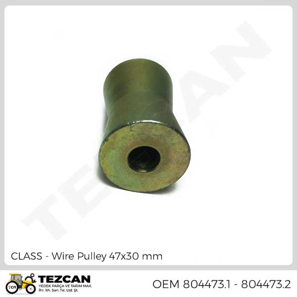 Wire Pulley 47x30 mm